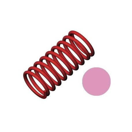 Traxxas 5443 Shock Springs GTR Red (5.4 Rate Pink) (2)