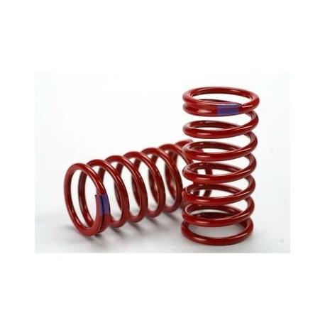 Traxxas 5445 Shock Springs GTR Red (6.4 Rate Purple) (2)