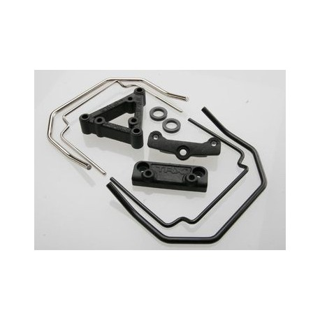 Traxxas 5496 Sway Bar Kit Front & Rear (w/o Linkage)