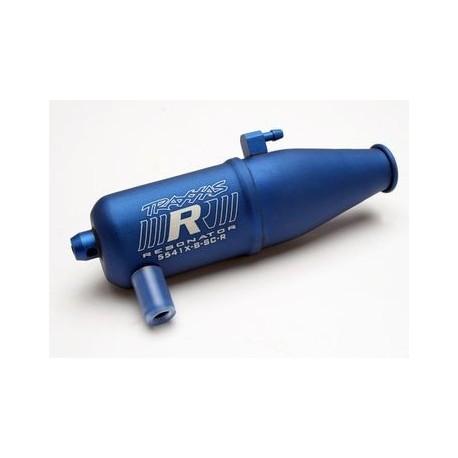Traxxas 5541X Tuned Pipe Blue Anodized Aluminium Single-chamber