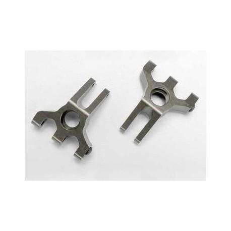 Traxxas 5555X Stub Axle Carriers Aluminium Titanium-anodized (Pair) Jato