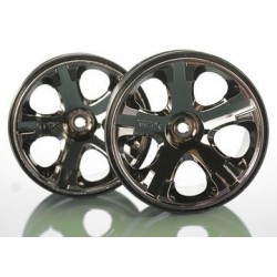 Traxxas 5576A Wheels All-Star 2.8 Black Chrome (2)