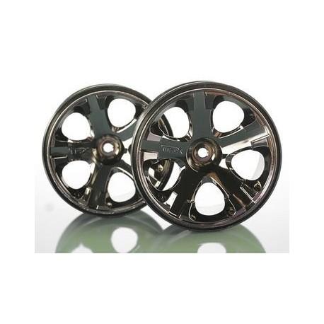 Traxxas 5576A Wheels All-Star 2.8 Black Chrome (2)