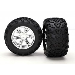 "Traxxas 5674 Tires & Wheels Maxx/Geode (17mm) 3,8"" (2)"