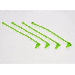 Traxxas 5753 Body clip retainer, green (4)