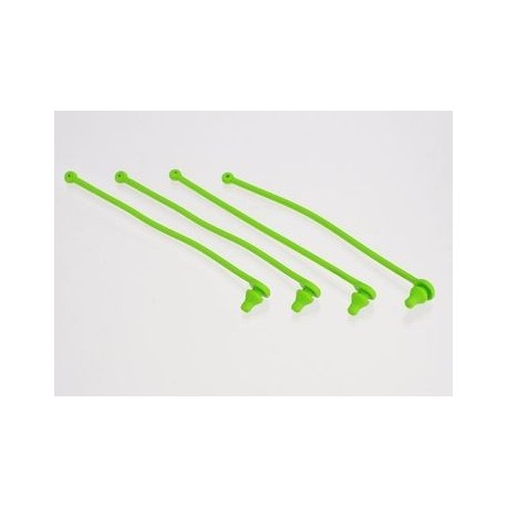 Traxxas 5753 Body clip retainer, green (4)