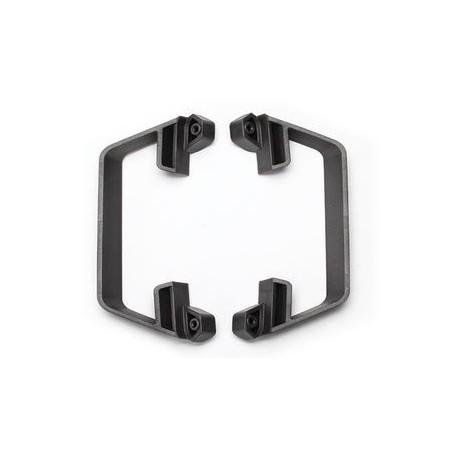 Traxxas 5833G Nerf Bars LCG Slash 2wd Grey (2)