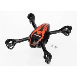 Traxxas 6215 CANOPY, UPPER AND LOWER, QR-1,