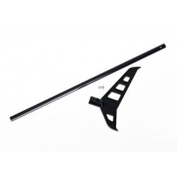Traxxas 6352 TAIL BOOM (BLACK-ANODIZED)/ T