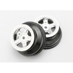 Traxxas 7072 Wheel SCT Chrome (2)