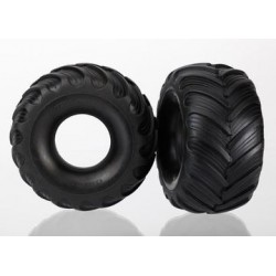 "Traxxas 7267 Tires, Monster Jam replica, dual profile (1.5"" outer and 2.2"