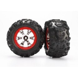 Traxxas 7272 Tires and wheels assembled