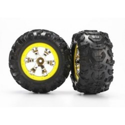 Traxxas 7276 Tire, wheel Canyon AT (2)
