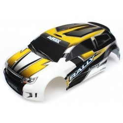 Traxxas 7512 BODY, 1/18TH RALLY, YELLOW