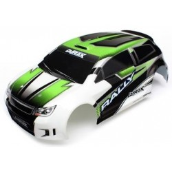 Traxxas 7513 BODY, 1/18TH RALLY, GREEN