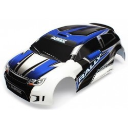 Traxxas 7514 BODY, 1/18TH RALLY, BLUE