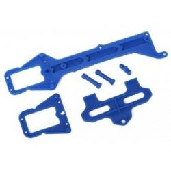 Traxxas 7523 UPPER CHASSIS/BATTERY HOLD DWN