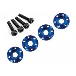 Traxxas 7668 Wheel Screw & Washer Alu Blue