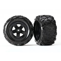 Traxxas 7672 Tires and Wheels 1/18 Teton (2)