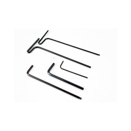 Traxxas 5476X Hex Wrenches 1,5/2/2,5/3mm & 2,5mm Ball