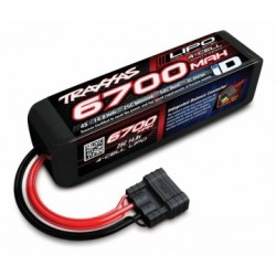 Traxxas 2890X Li-Po Battery 4S 14,8V 6700mAh 25C iD-connector