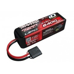 Traxxas 2857X Li-Po Battery 3S 11,1V 6400mAh 25C iD-connector