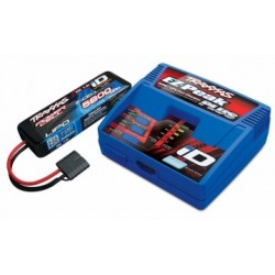 Traxxas 2992G Charger (230V) and 2S LiPo 5800mAh iD Battery Combo