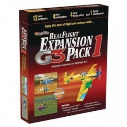 GREAT PLANES Realflight G3/G4 exp. pack 1* SALE, 18MZ4111