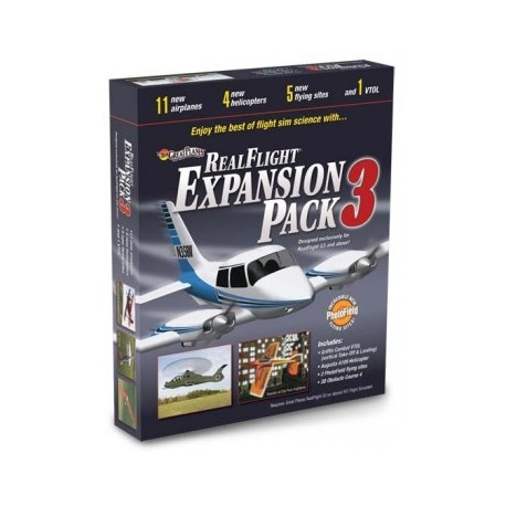 GREAT PLANES Real Flight G3/G4 Exp. Pack 3* SALE, 18MZ4113