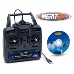 MERIT RC Simulator USB Freeware Mode2* SALE, 58SIM09