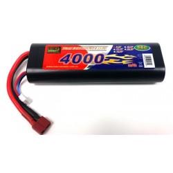 LiPo 7,4V - 4000mAh - 25c - Deans-stik - hardcase