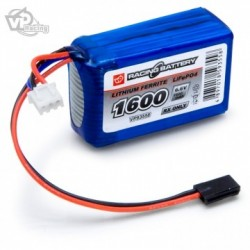 Receiver Battery Li-Fe 6,6V 1600mAh Cube