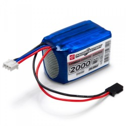 Receiver Battery Li-Fe 6.6V 2000mAh Cube
