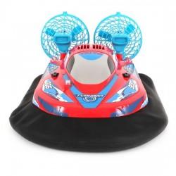 Luftpudebåd fjernstyret - super sjov båd