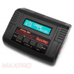 Multi-lader Easy-80 MaxPro 80W - LiFe, LiPo, NiMh,Li-Ion, NiCd - mange stik