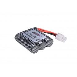 16-DJ02 Li-ion batteri 9,6V 800mAh 6 exits - dobbeltstik