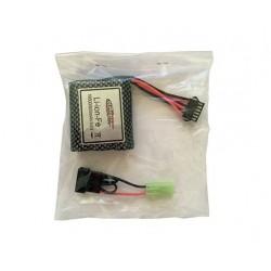 16-DJ02 Li-ion batteri 9,46 800mAh 6 exits / mini-tamiya stik 534689