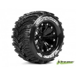 "Tire & Wheel MT-CYCLONE 2,8"" Black 0-Offset (2)"
