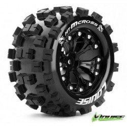"Tire & Wheel MT-MCROSS 2,8"" Black 0-Offset (2)"