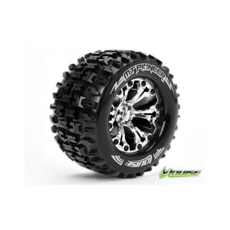 "Tire & Wheel MT-PIONEER 2,8"" Chrome 0-Offset (2)"