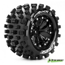 "Tire & Wheel MT-ROCK 2,8"" Black 1/2-offset (2)"