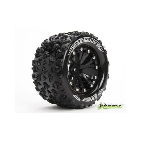 """Tire & Wheel MT-SPIDER 2,8"""" Black 0-Offset (2)"""