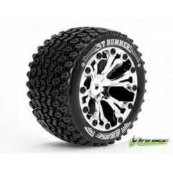 """Tire & Wheel ST-HUMMER 2,8"""" Chrome 1/2-Offset (2)"""