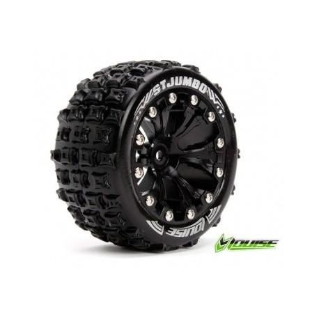 "Tire & Wheel ST-JUMBO 2,8"" Black 0-Offset (2)"