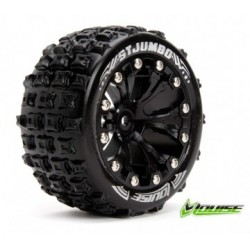 "Tire & Wheel ST-JUMBO 2,8"" Black 1/2-Offset (2)"