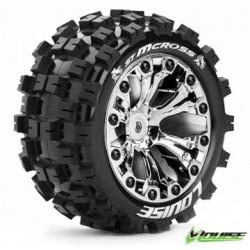 """Tire & Wheel ST-MCROSS 2,8"""" Chrome 1/2-Offset (2)"""