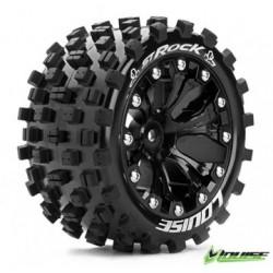 "Tire & Wheel ST-ROCK 2,8"" Black 1/2-Offset (2)"
