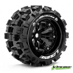 """Tire & Wheels MT-MCROSS 3,8"""" Svart 1/2-offset (2)"""
