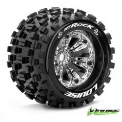 """Tire & Wheels MT-ROCK 3,8"""" Krom 1/2-offset (2)"""