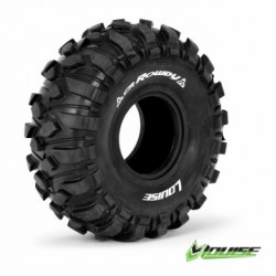 "1.9"" Crawler Tires with Foams - FRONT & REAR - Tire CR-ROWDY 1.9"" (2)"